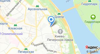 Национальный научно-исследовательский реставрационный центр Украины на карте