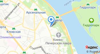 Киевская Духовная академия украинской православной церкви на карте