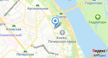 Национальный Киево-Печерский историко-культурный заповедник на карте