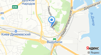 Посольство Литовской республики в Украине на карте