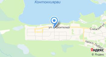 Отделение почтовой связи Костомукша 186932 на карте