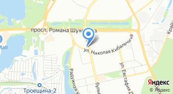 Днепровское РУ ГУ ГСЧС Украины в г. Киеве на карте