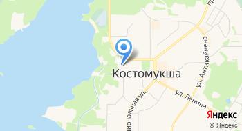 ЗАГС, отдел г. Костомукши на карте