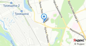 Благотворительное Братство Меньших Братьев Капуцинов при Житомирской диецезии Римско-католической церкви на карте