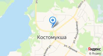 Костомукшское ЖКХ МУП на карте
