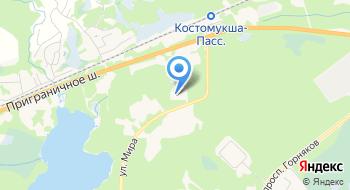 Межрайонная ИФНС России №1 по Республике Карелия (ТУ по г. Костомукше) на карте
