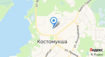 Детский сад, Солнышко, МДОУ на карте