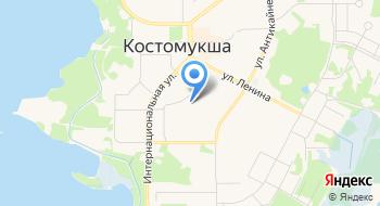 Высшее учебное заведение на карте