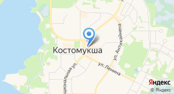 Магазин М+ на карте