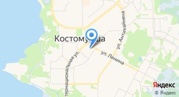 Карельский Зодчий на карте