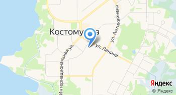 Детский сад, Золотой Ключик на карте