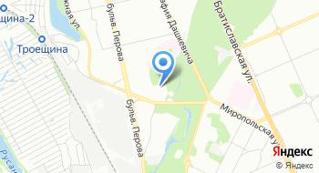 Киевская городская детская клиническая больница №2 на карте