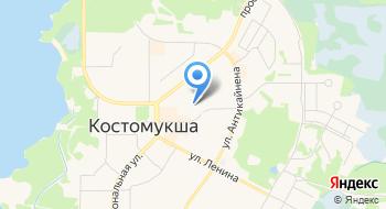 Санкт-петербургский Государственный Горный университет, филиал в г. Костомукша на карте