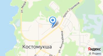 ВТБ Северо-запад, банк, Костомукшский филиал на карте