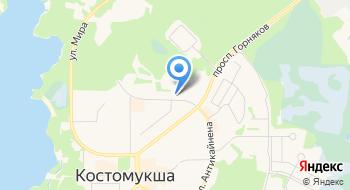 Отдел Военного Комиссариата РК по г. Костомукша на карте