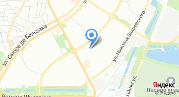 Детская поликлиника №1 Деснянского района Медицинская неотложная помощь на карте