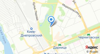 Каток Крижинка на карте
