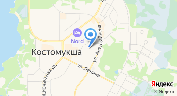 Муниципальный Архив и Центральная библиотека Костомукшского Городского Округа на карте