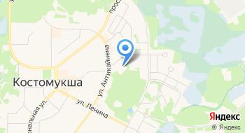 Отделение Министерства внутренних дел Российской Федерации по городу Костомукше на карте