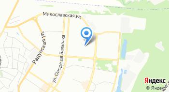 Гимназия Троещина на карте