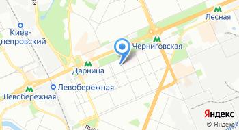 Управление статистики в Днепровском районе города Киева на карте