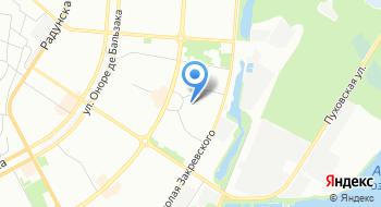 Центр культуры и спорта комитета микрорайона Джерело на карте