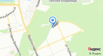 Деснянский районный Военный комиссариат в г. Киеве на карте