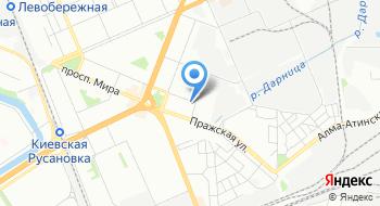 Авиакомпания Азурэйр-Украина на карте