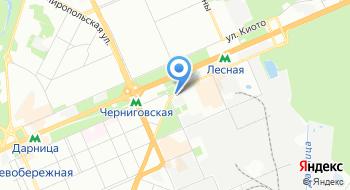 Автобусная станция № 4 Дарница на карте