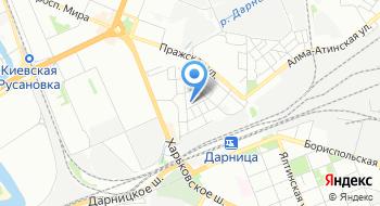 Днепровское отделение ГАИ при УГАИ ГУ МВД Украины в городе Киеве на карте
