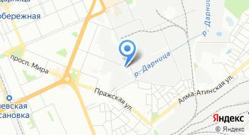 Киевский республиканский автоцентр на карте
