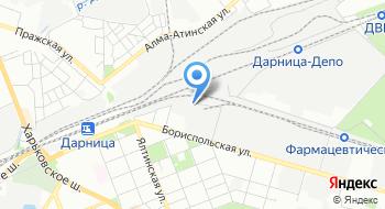 Компания Интерпайп Днепропетровский втормет на карте