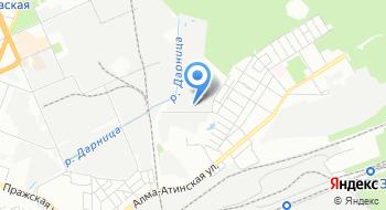 Киевская городская таможня Миндоходов Таможенный пост Схидный на карте