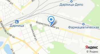 Адвокатско-бухгалтерское бюро братьев Бобошко на карте