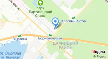 Дарницкий детский дом-интернат на карте