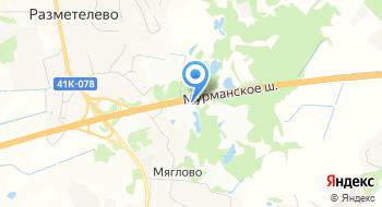 Строительная база Разметелево на карте