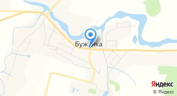 Бужанка на карте