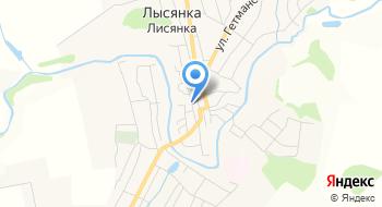 Государственная Нотариальная Контора Лисянская на карте