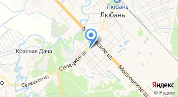 Управление Лесами Ленинградской области на карте