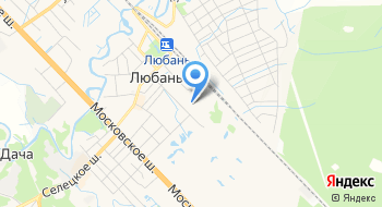 Любанская средняя общеобразовательная школа имени А. Н. Радищева на карте