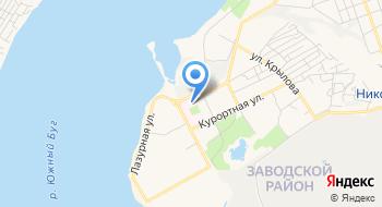 Морг областной больницы г. Николаева на карте