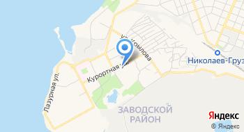 Городская детская поликлиника № 3 г. Николаева на карте