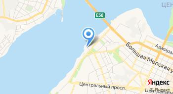 Николаевский речной вокзал на карте