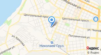 Трамвайное депо №1 предприятия Николаевэлектротранс на карте