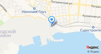 Николаевская ТЭЦ на карте