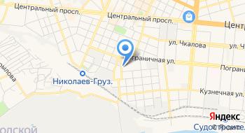 Заводской районный в городе Николаеве отдел государственной регистрации актов гражданского состояния главного териториального управления юстиций в Николаевской области на карте