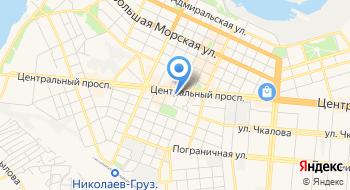 Николаевская городская стоматологическая поликлиника Детское отделение на карте