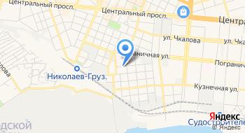 Заводской районный суд города Николаева на карте