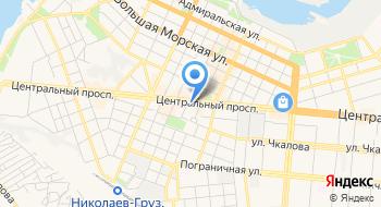 Домашний интернет Киевстар в Николаеве на карте
