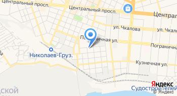 Технический транспортный отдел Николаевского Городского Совета на карте